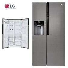 LG Side by Side NoFrost Kühlschrank Kühl-Gefrierkombination A++ 591L Festwasser