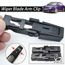 2X Car Front Wiper Blade Slide Clip For BMW 5 Series E39 1996-2003 Audi A4 B6