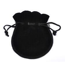 10pc/set Portable Velvet Flocking Drawstring Pouch Coin Jewelry Wedding Bag Gift