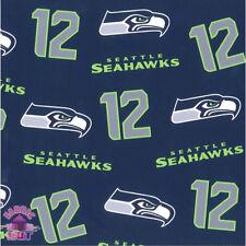 Seattle Seahawks Sea Hawks 12 NFL Fleece Fabric 6400 D