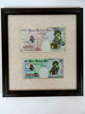 Paddington Bear Framed Picture 'Bank of Paddington Bear £50 & £5 Note'