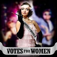 VOTES FOR WOMEN SASH FANCY DRESS COSTUME SUFFRAGETTE EMMELINE PANKHURST &P P