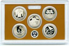 2020 S US MINT AMERICA THE BEAUTIFUL PROOF 5 COIN QUARTER SET - NO BOX COA