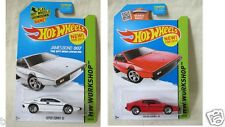 Hot Wheels Workshops collection of Lotus Esprit S1 (White and Red)