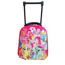 1pc My Little Pony Trolley School Bags Kids Girls School Luggage Suitcase Bags