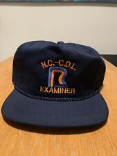Vintage Roadway Express Snapback Trucker Hat Nc Examiner 70s 80s One Size Usa