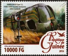 Belgian Railways (NMBS / SNCB Belgium) Type 12 4-4-2 Streamliner Train Stamp
