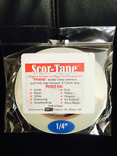 "Volume Discount!! 5 Scor-Tape Adhesive 1/4"" x 27yd by Scor-Pal"