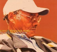 """New """"You Don't Know What I Know"""" by Little Freddie King (Cd, Fat Possum 2005)"""