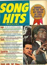 1969 Song Hits magazine Paul McCartney of The Beatles James Brown David Houston