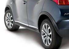 Nissan Juke Chrome Outer Door Sill Protectors Genuine KE7601KA00