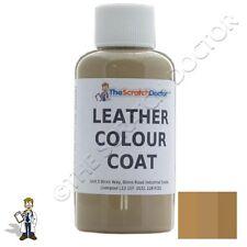 BEIGE Leather Colour Coat Dye for BMW. Repair & Restore Colourant Kit
