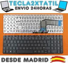 TECLADO PARA PORTATIL HP ENVY 15-K167CL EN ESPAÑOL NUEVO SIN MARCO NEGRO