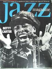 JAZZ MAGAZINE 249 BETTY CARTER JOHN TCHICAI BILL DIXON JEAN-LOUIS CHAUTEMPS 1976
