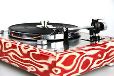restauré Thorens TD 165 Tourne-disque Pièce design Placage bois exotique