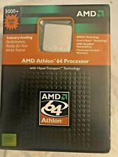 AMD Athlon 64 Processor 3000+ Socket 939 New UNOPENED Box