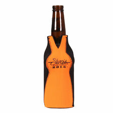 Sturgis Motorcycle Rally Boobs in Orange Shirt Zip Up Bottle Koozie #1455