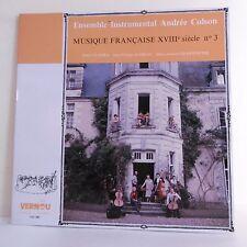 """33T Ensemble Andrée COLSON Vinyle LP 12"""" MUSIQUE FRANCAISE XVIII N°3 VERNOU RARE"""