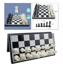 Magnetic Travel Chess Set Folding Brain Board Game - Open Box