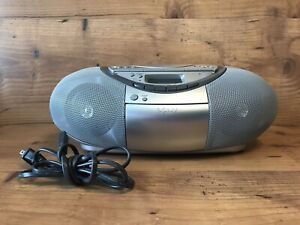 Sony CFD-S350 Cassette Recorder CD Player AM FM Stereo Radio Boombox NO REMOTE