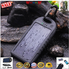Solar Charger Portable USB Battery Power Bank For Cell Phone iPhone GPS GoPro US