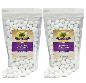 3 lbs - 6 lbs Premium White Jordan Almonds Italian Wedding Party Favor Candy
