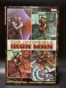 The Invincible Iron Man Vol. 1 - Marvel Comics Hardcover - EX! Fraction/Larroca