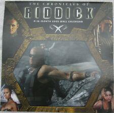 The Chronicles of Riddick Calendar 2005 16 month Wall Calendar