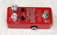 NEW (DEAD) FX Super-Fuzz, a Mini-Pedal Remake of the Vintage Univox Super-Fuzz!!