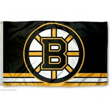 BOSTON BRUINS FLAG 3'X5' NHL LOGO BANNER: FAST FREE SHIPPING