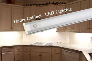 "24"" Kitchen Counter Under Cabinet LED Light 2FT 5000K 3000K+ switch + UL Power"