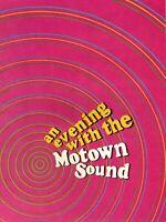 SUPREMES-TEMPTATIONS-MARVIN GAYE 1967 MOTOWN SOUND TOUR CONCERT PROGRAM BOOK