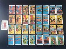 RARE jeu de carte Silan Tintin COMPLET TBE