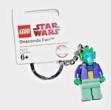 LEGO Star Wars Keyring/keychain Onaconda Farr - Rare~~