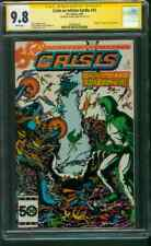 Crisis on Infinite Earths 10 CGC SS 9.8 George Perez Death of Starman 1/1986