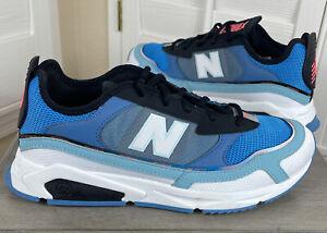 New Balance Lifestyle X Racer Blue/White Running Shoes - MSXRCFMN - Men's Size 9