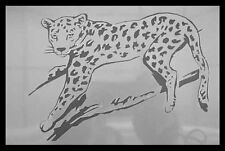Airbrush Schablone A020 Leopard