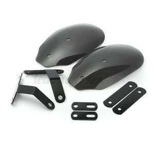 Universal Motorcycle Hand Guard Wind Deflector Protector Shield Cover UK