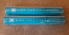 "New Packaging 2 Pcs Avon Super Shock Black Mascara True Color ""Factory Sealed"