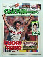 GUERIN SPORTIVO 11-1988 CARLO ANCELOTTI MADJER SCHACHNER SCIFO ROZZI WEBB +FILM