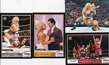 TNA BORN IN CALGARY CANADA 4 SEXY NATALYA WRESTLING CARDS XMAS DIVAS ON 1 CARD