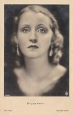 BRIGITTE HELM vintage ross verlag Photo Postcard 1930s