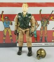 Original 1990 GI JOE MAJOR STORM V1 ARAH not Complete UNBROKEN figure TIGHT!