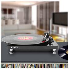 Fenton RP120 3 Speed Retro Vinyl LP Record Player Turntable 33 1/3 45 78 RPM