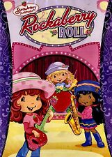 NEW CHILDREN DVD // STRAWBERRY SHORTCAKE // ROCKABERRY ROLL // INC COLORING PAGE