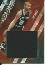 Tony Parker 2009-10 Absolute Memorabilia Star Gazing Jumbo Materials #12 06/10