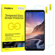 PASBUY 2 Pack 0.26mm Tempered Glass Screen Protector for Xiaomi Mi Max 3