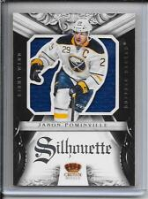 12-13 Crown Royale Jason Pominville Silhouette Jersey # 4