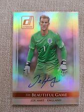 2015 Panini Donruss Soccer Joe Hart The Beautiful Game Auto England...
