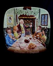 Beswick Royal Doulton 1972 Christmas in England plate